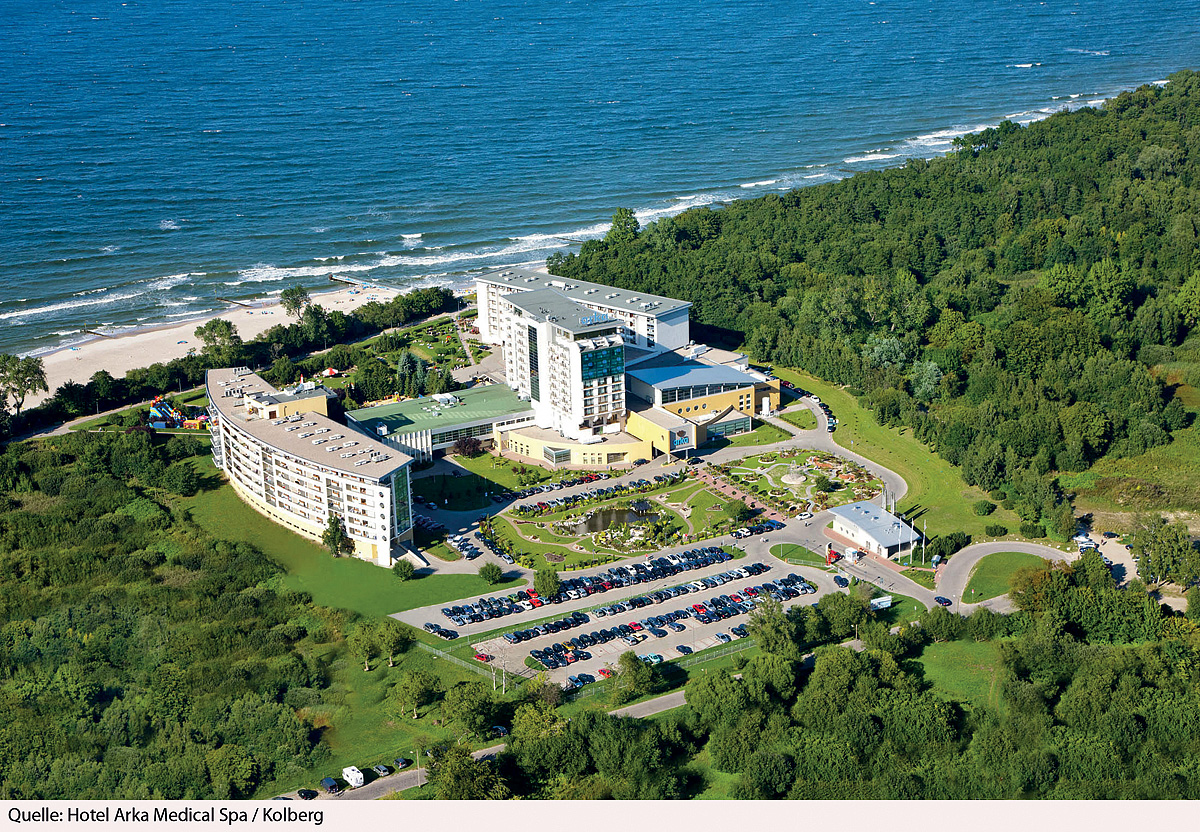 Polsko (Polsko) - dovolená - HOTEL ARKA MEDICAL SPA