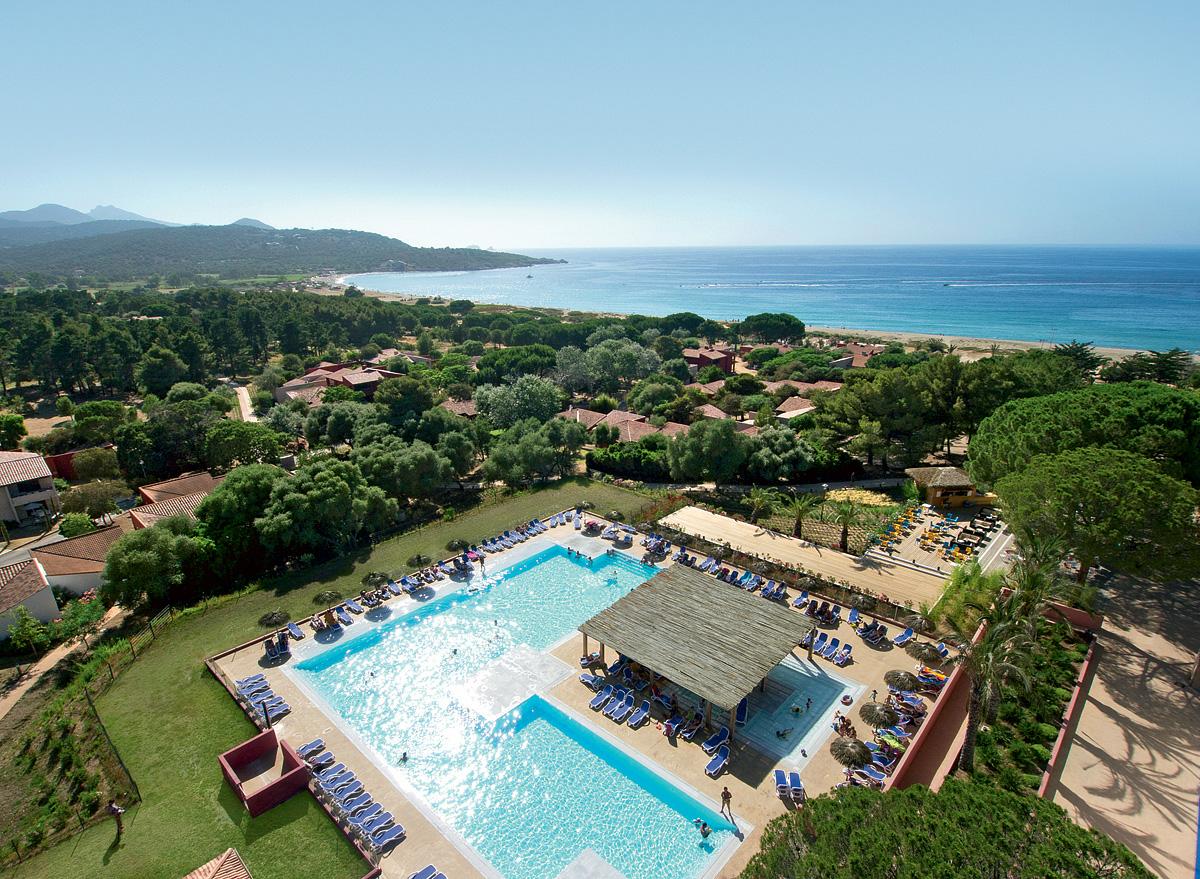 Francie (Korsika) - dovolená - CLUB RESORT BELAMBRA GOLFE DE LOZARI