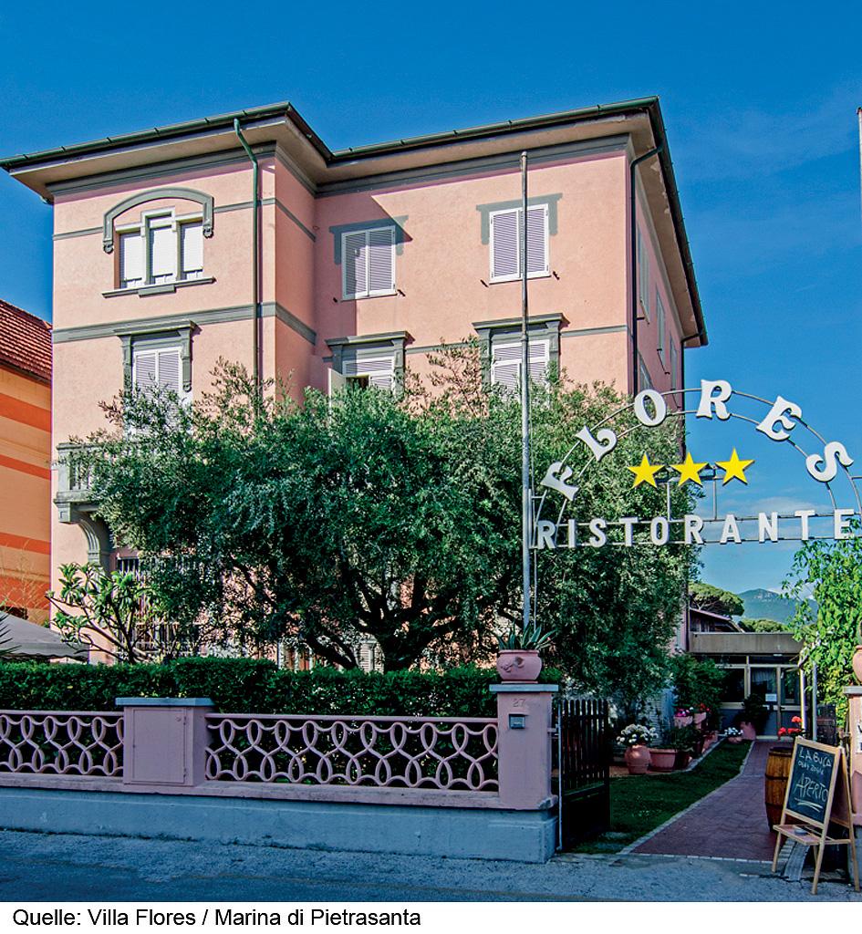 Itálie (Jižní Jadran) - dovolená - HOTEL VILLA FLORES