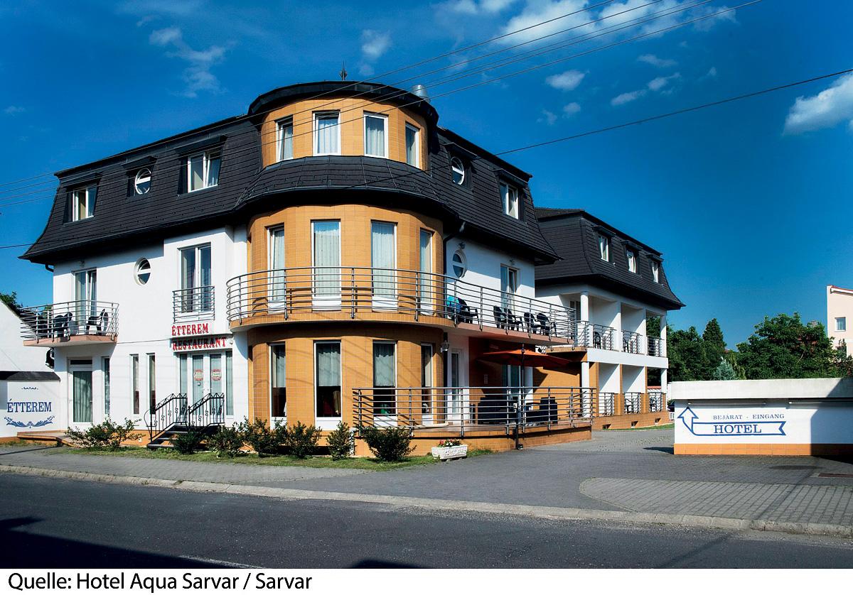 Maďarsko (Maďarsko) - dovolená - HOTEL AQUA SARVAR