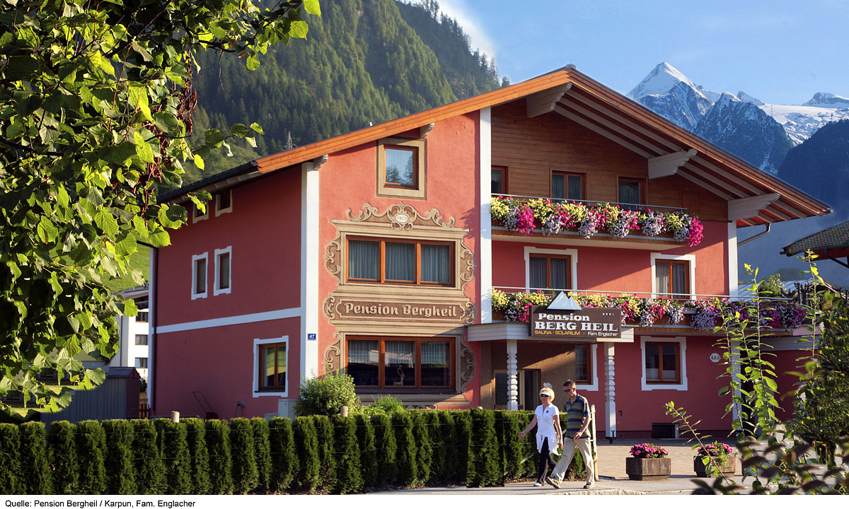 Rakousko (Rakouské Alpy a jezera) - _frontend_tour_type_alt_H - PENSION BERGHEIL