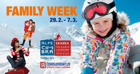 Family Week ve Folgarii