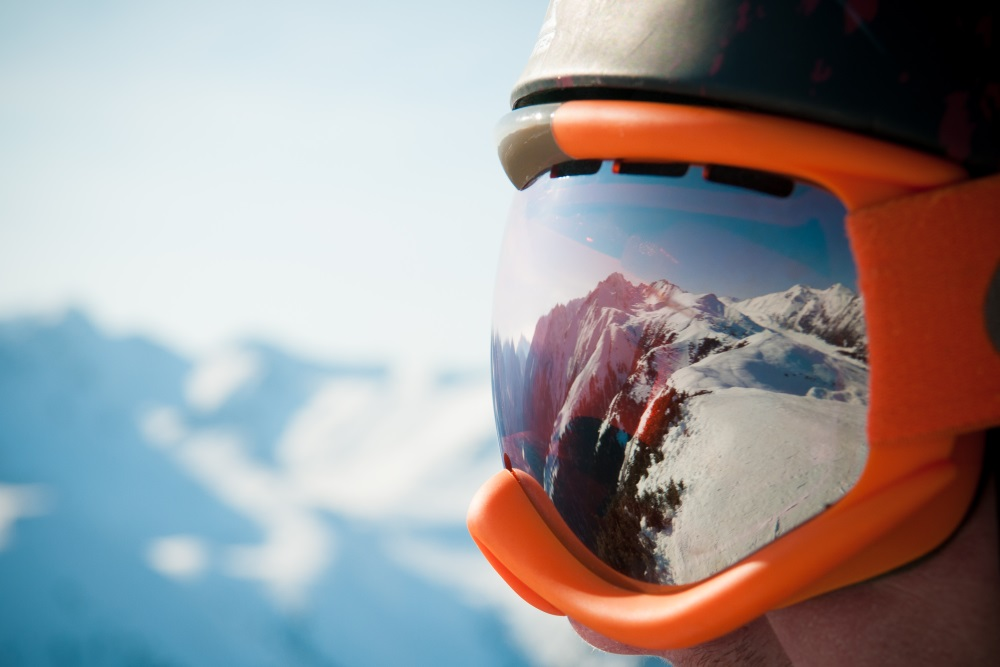 A mountain range reflected in the ski mask.jpg
