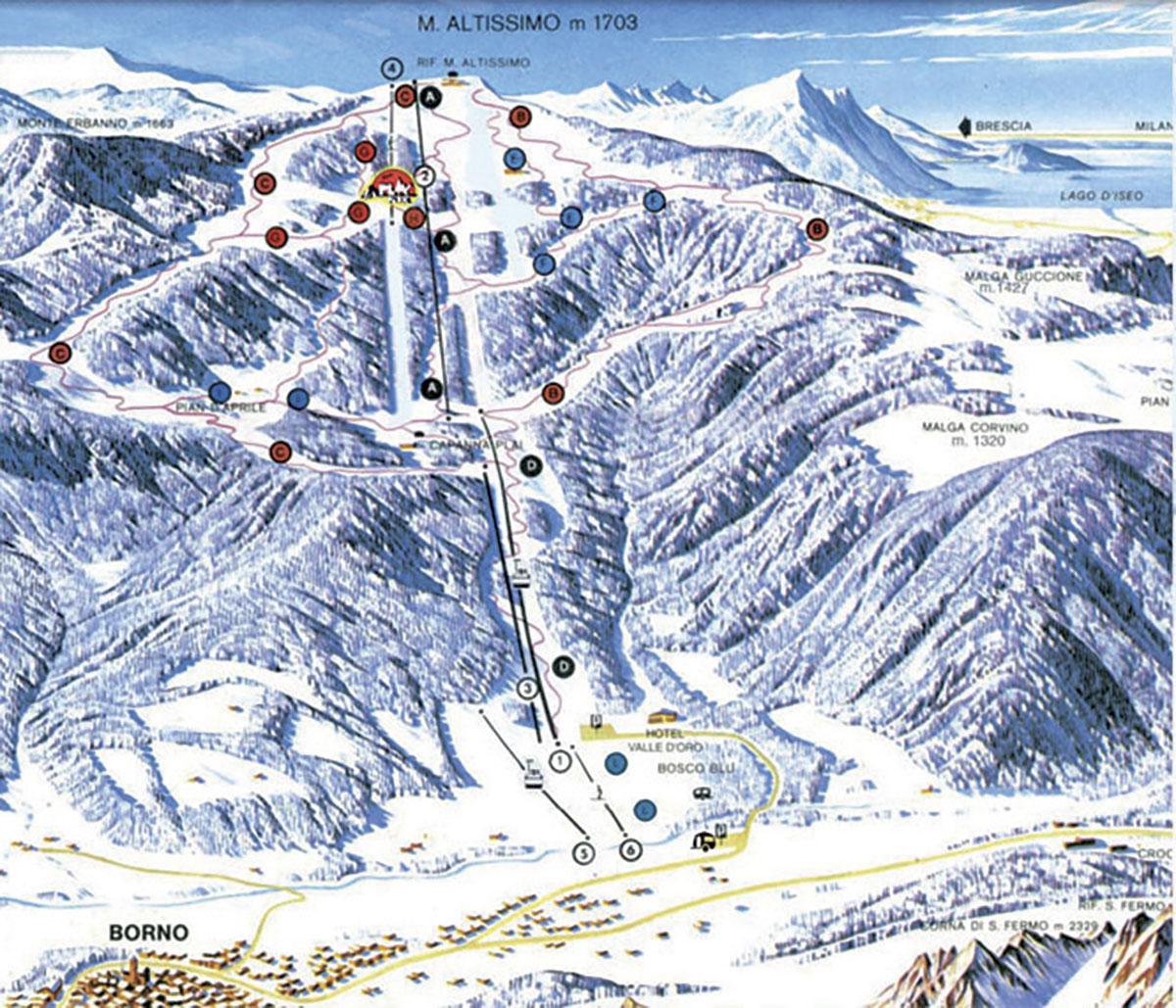 Borno - Monte Altissimo - Val Camonica