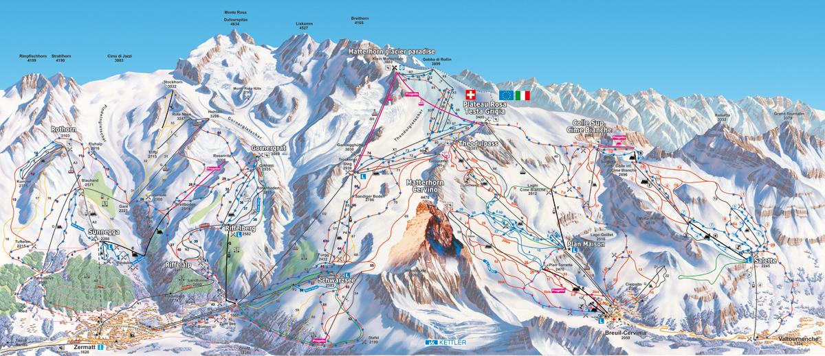 Cervinia / Zermatt - Valle d´Aosta