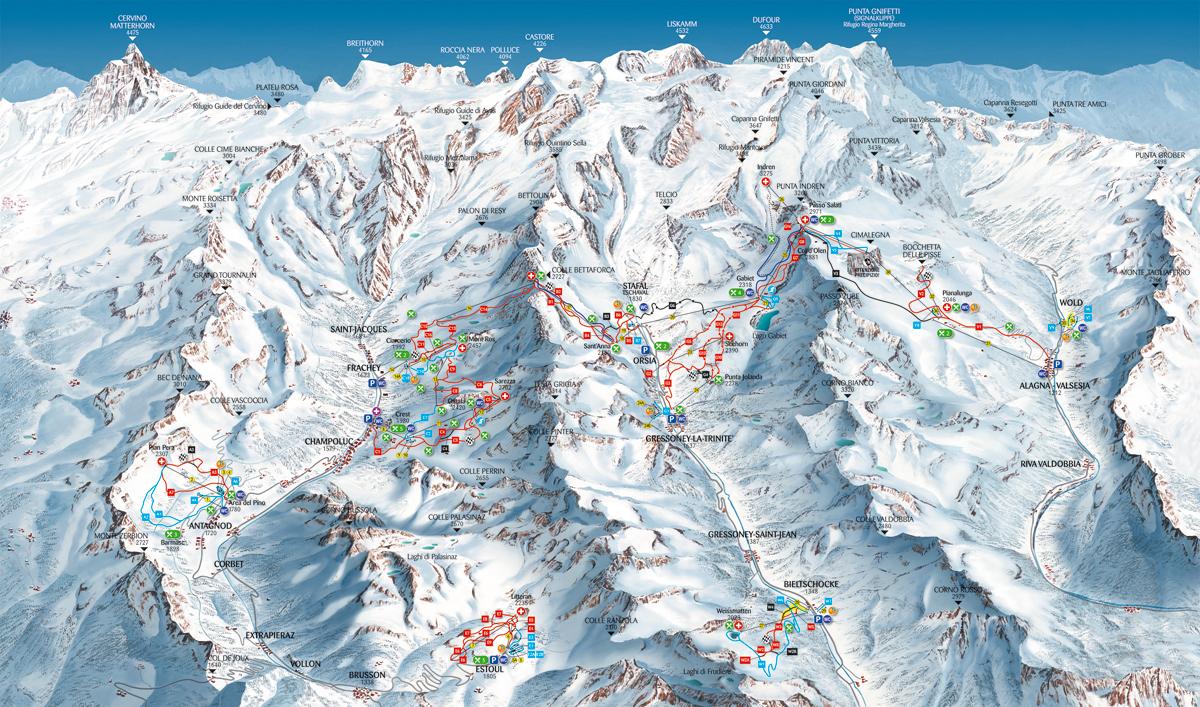 Monterosa Ski - Valle d´Aosta