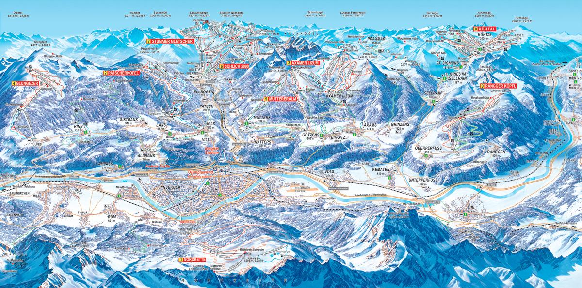 Innsbruck a okolí - Tyrolsko