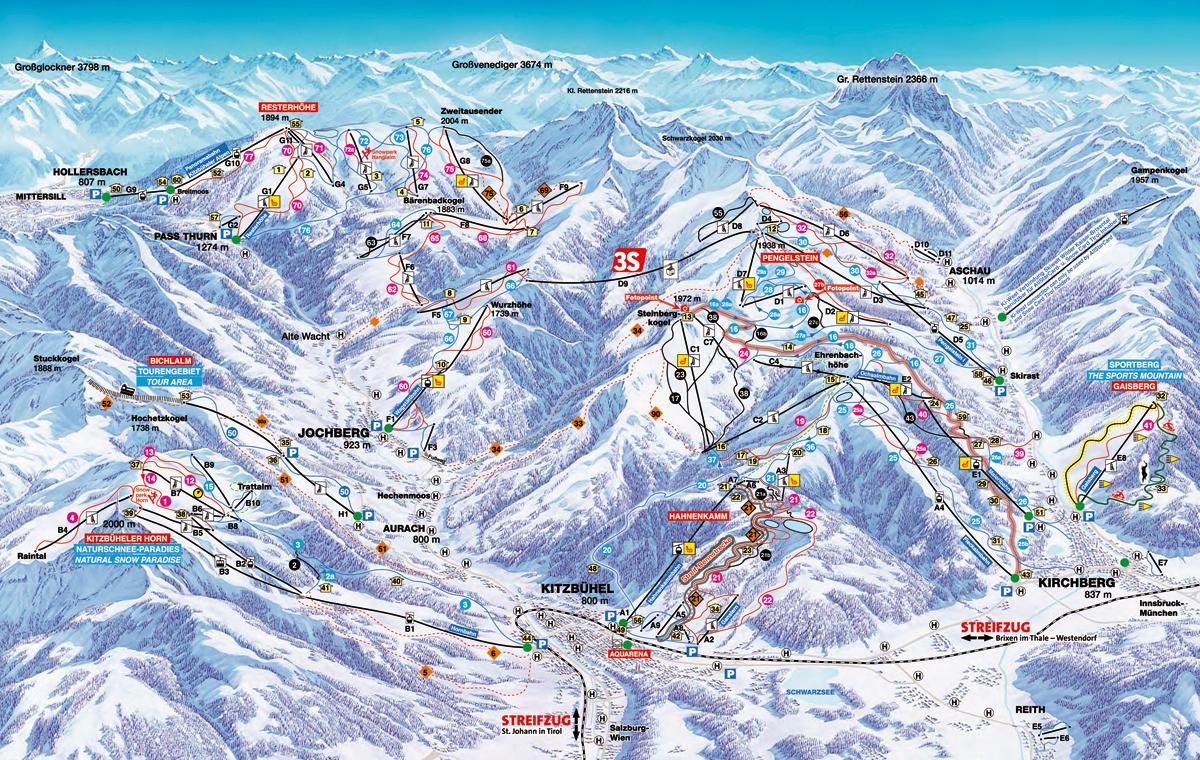 Kitzbühel - Kirchberg - Tyrolsko