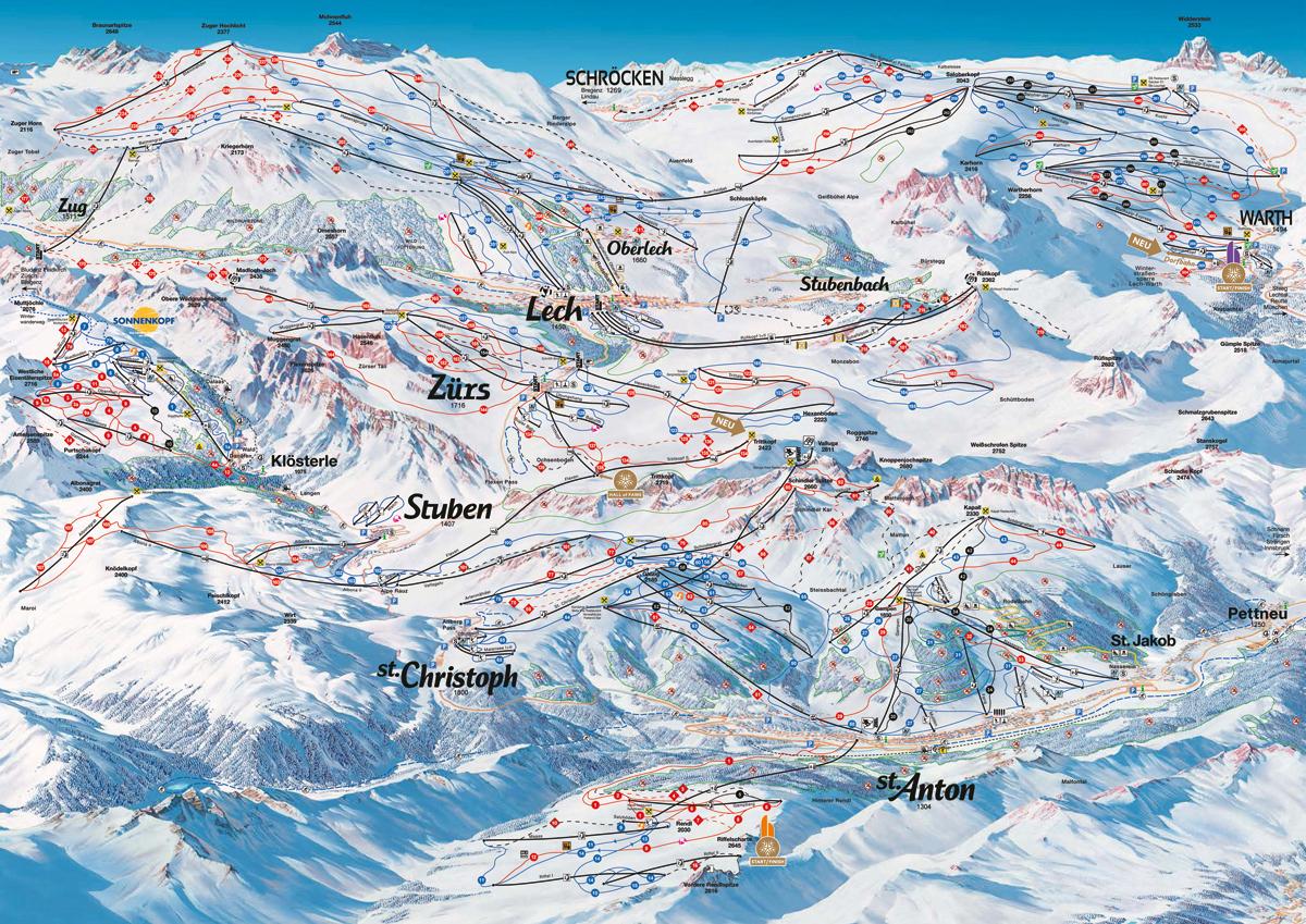 Ski Arlberg - St. Anton / Zürs / Lech - Tyrolsko