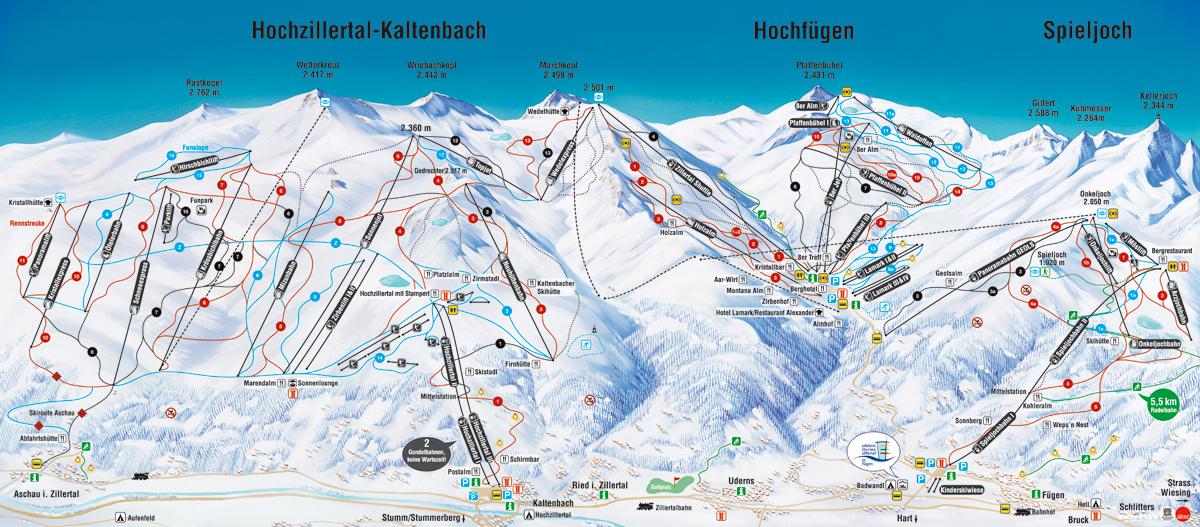 Hochzillertal / Hochfügen - Tyrolsko