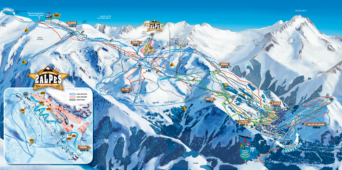 Les 2 Alpes - Isere