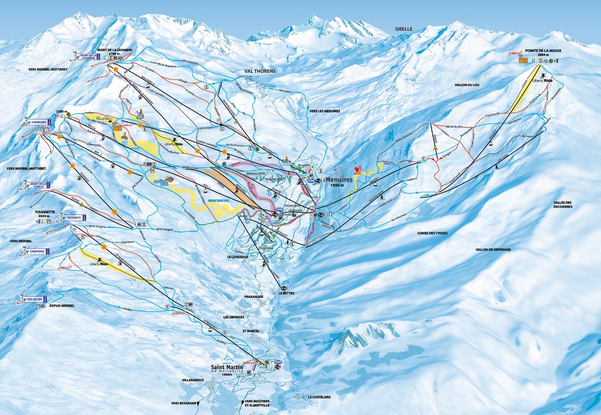 Les Menuires - Savoie - Les Trois Vallées