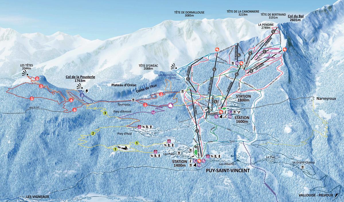 Puy Saint Vincent - Hautes Alpes