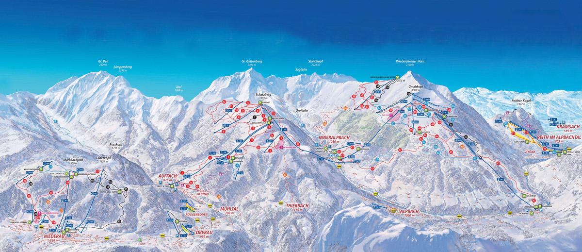 Ski Juwel - Alpbachtal / Wildschönau - Tyrolsko