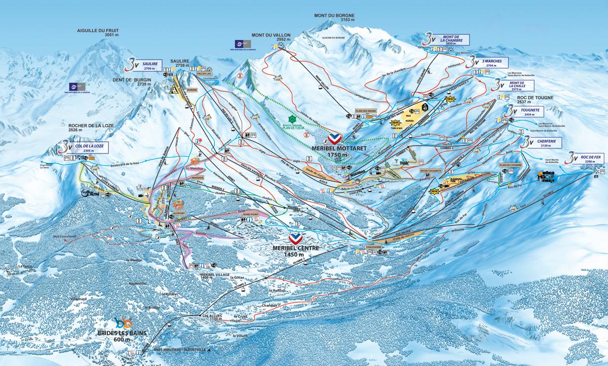 Méribel / Mottaret - Savoie - Les Trois Vallées