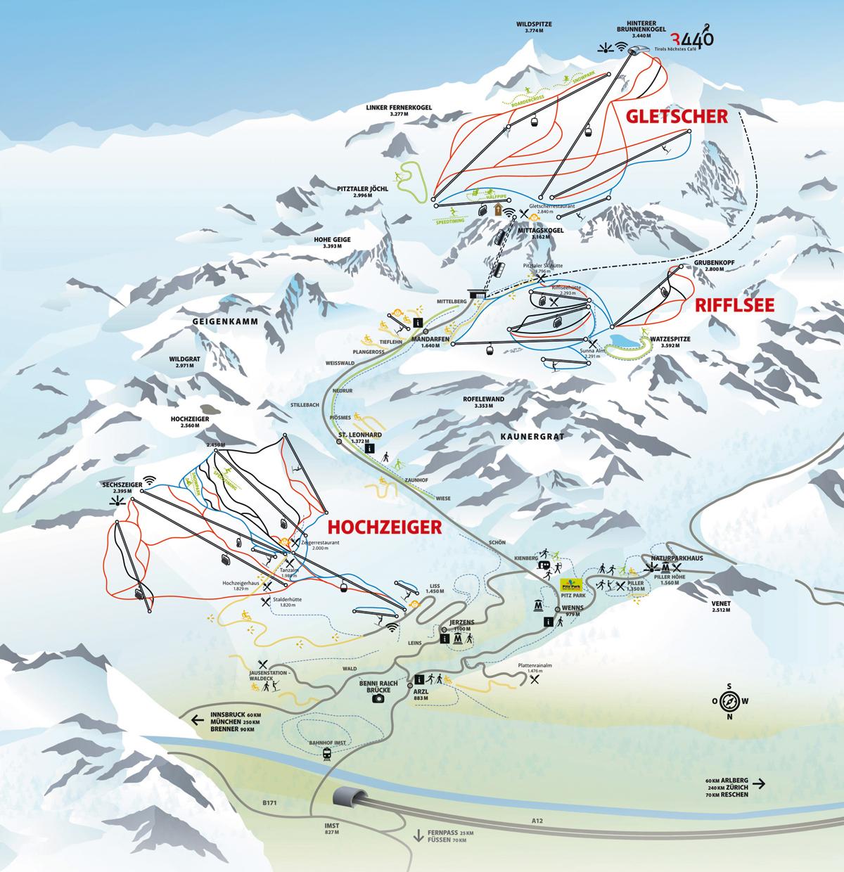 Pitztal - Tyrolsko