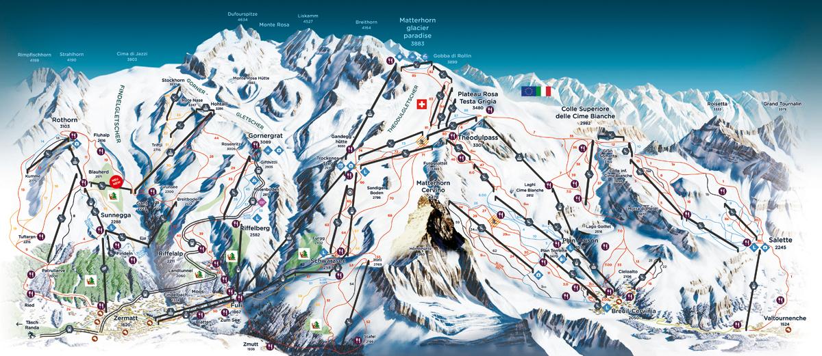 Zermatt / Cervinia - Wallis