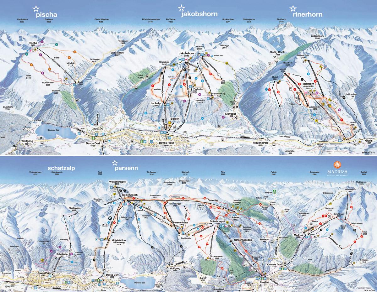 Davos / Klosters - Graubünden