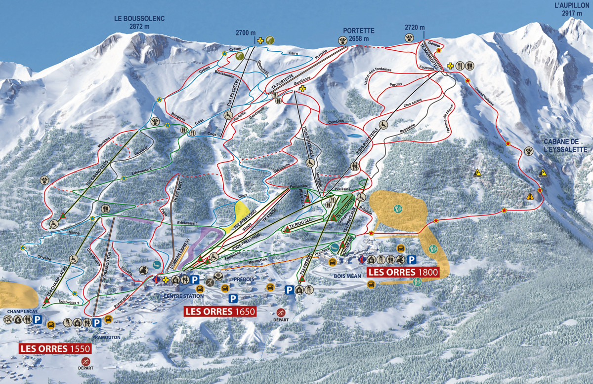 Les Orres - Hautes Alpes