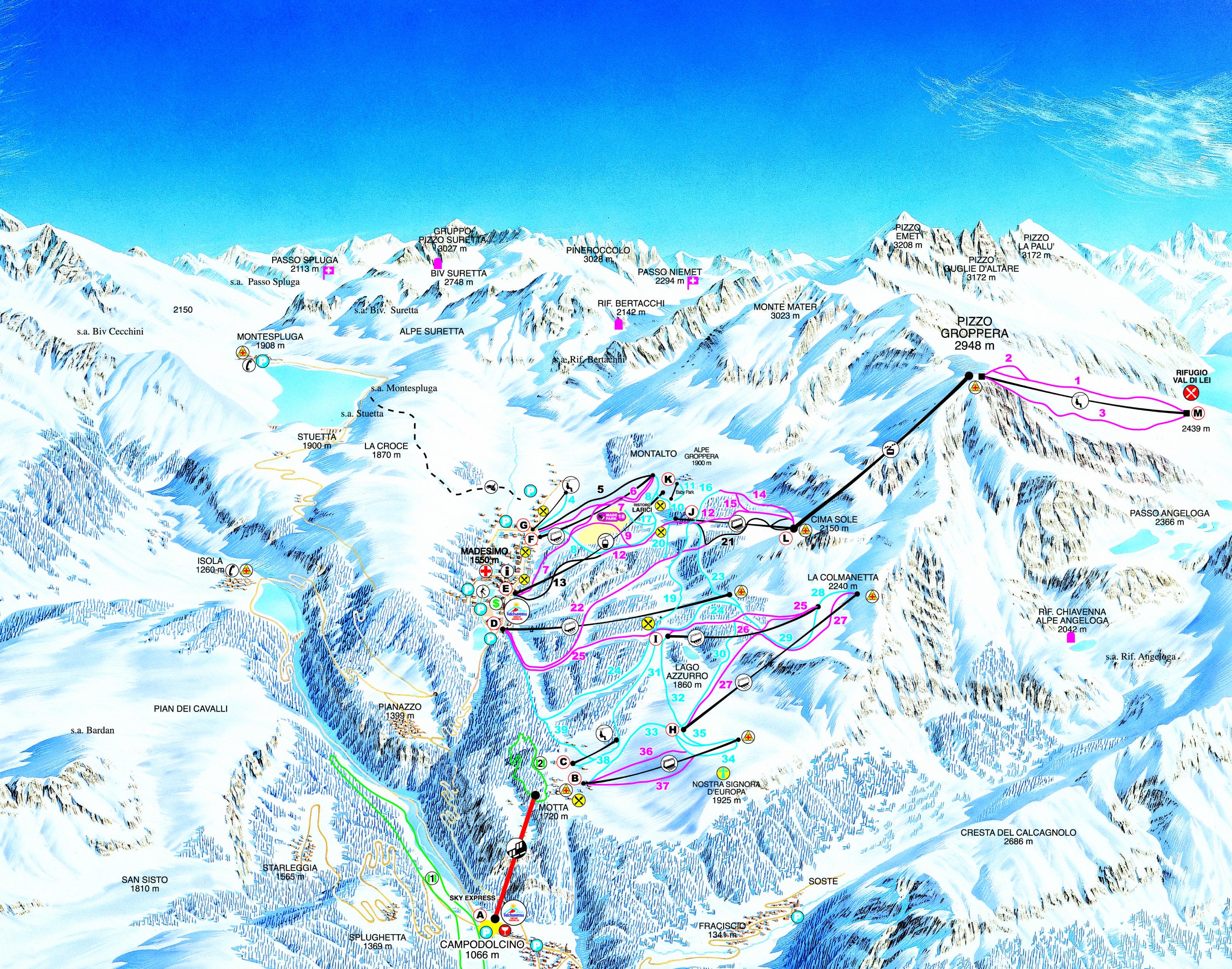 Madesimo - Valtellina