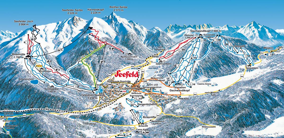 Seefeld - Tyrolsko