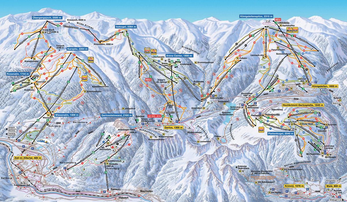 Zillertal Arena - Tyrolsko