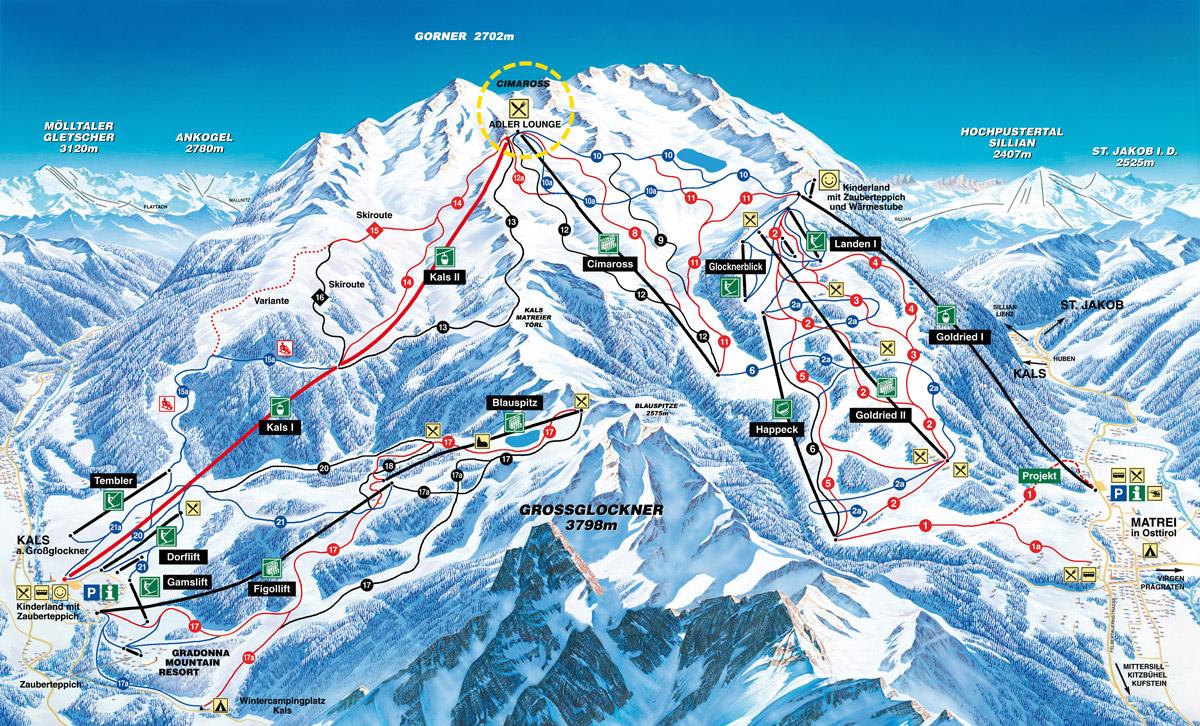 Matrei / Kals - Východní Tyrolsko