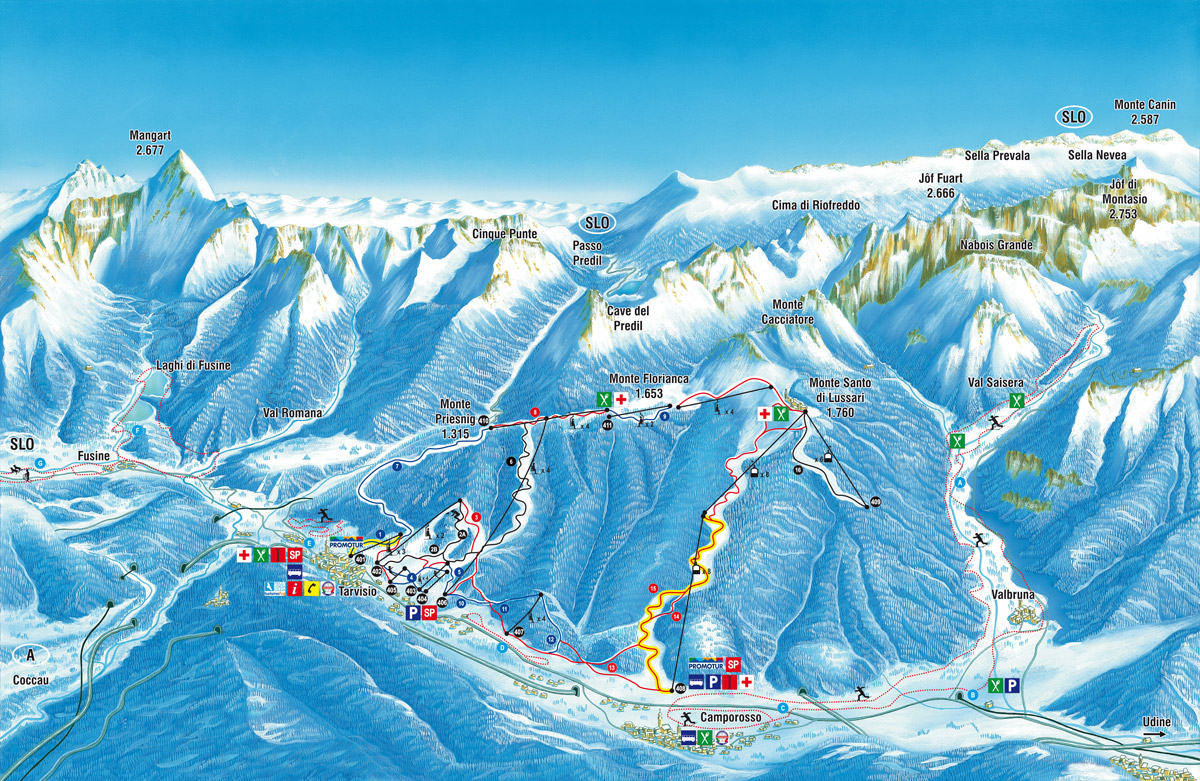 Tarvisio - Friuli Skiregion