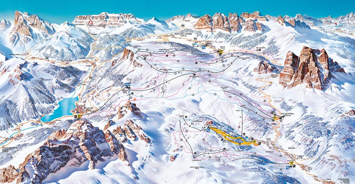 Civetta - Dolomiti Superski