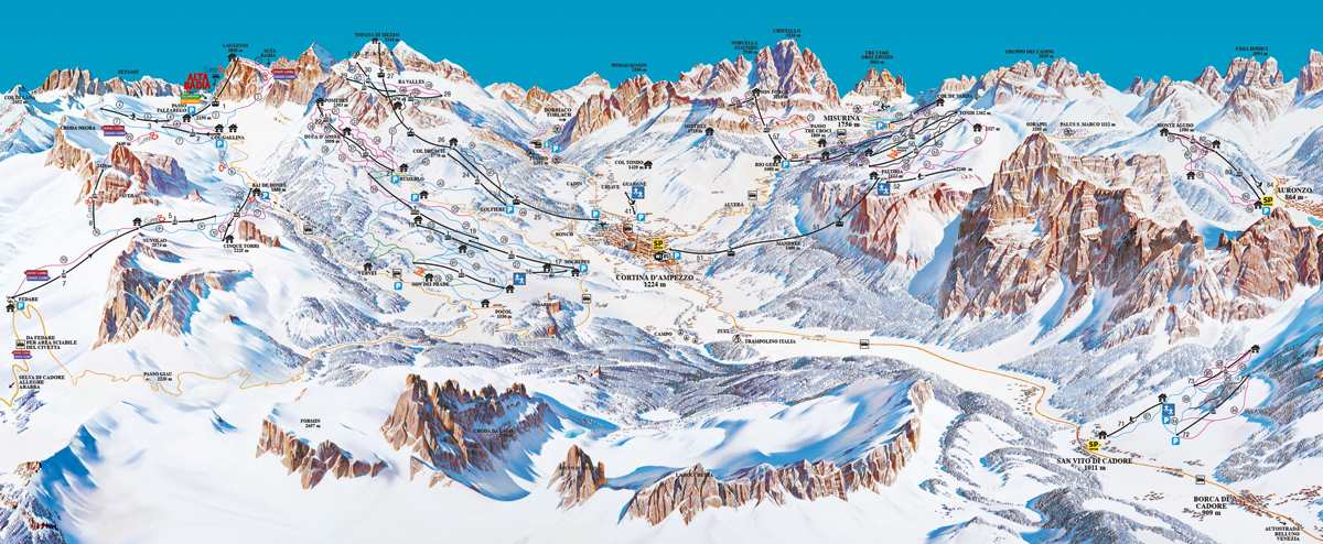Cortina d´Ampezzo - Dolomiti Superski