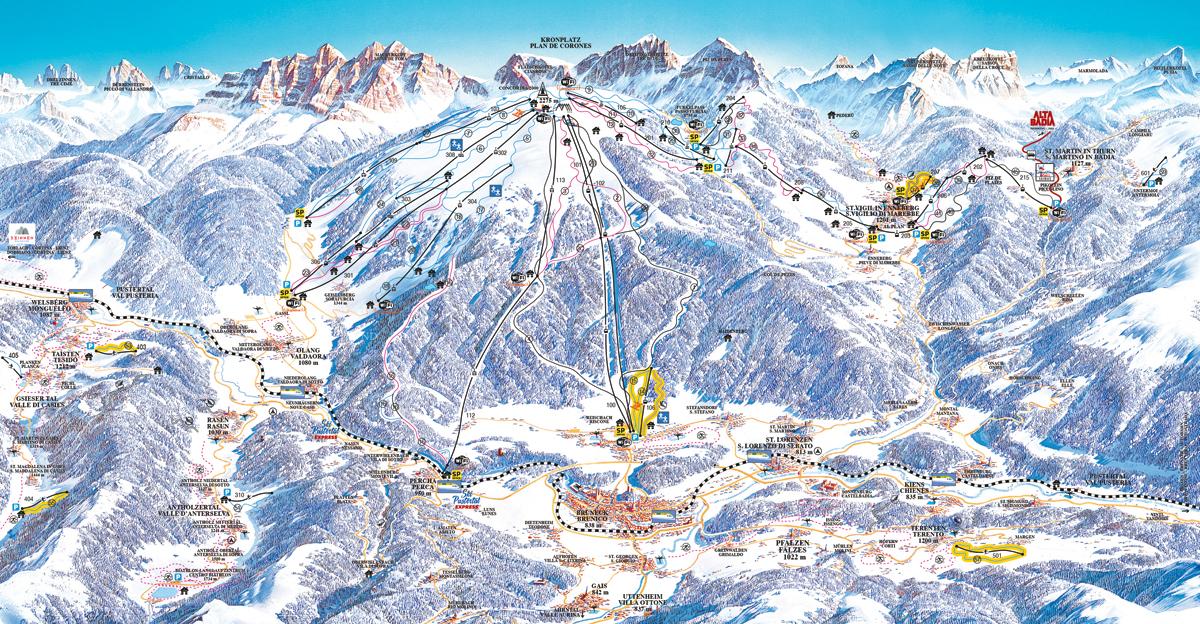 Kronplatz - Plan de Corones - Dolomiti Superski
