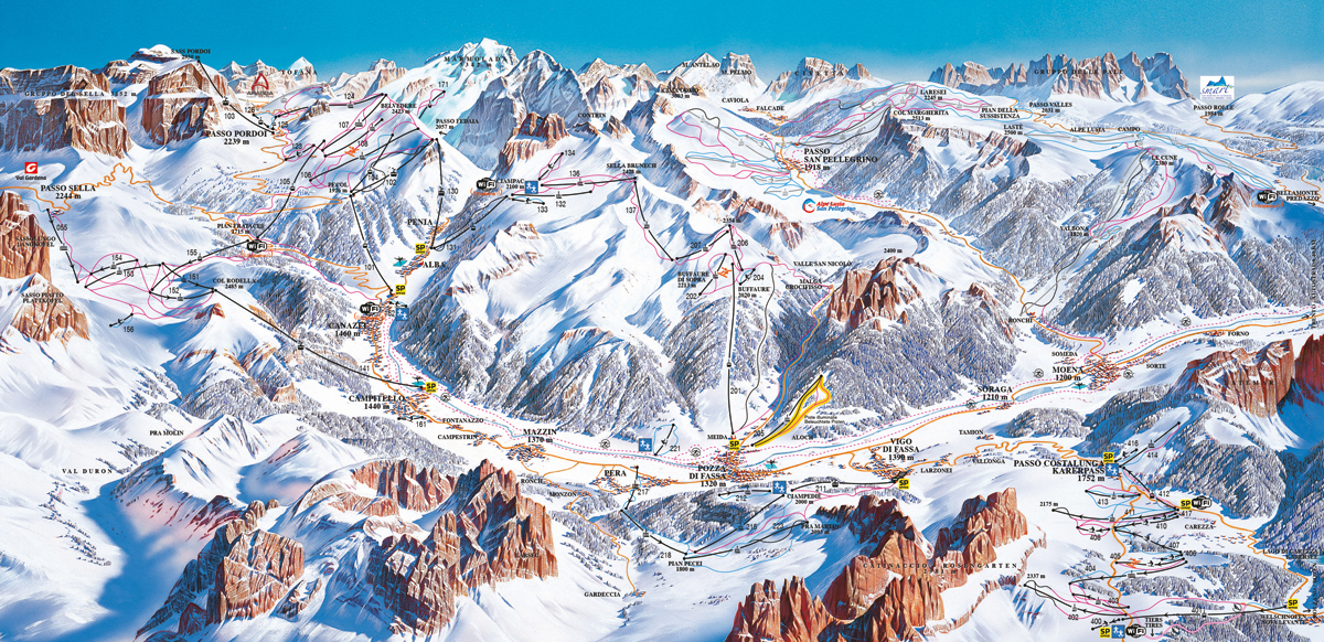 Val di Fassa e Carezza - Dolomiti Superski